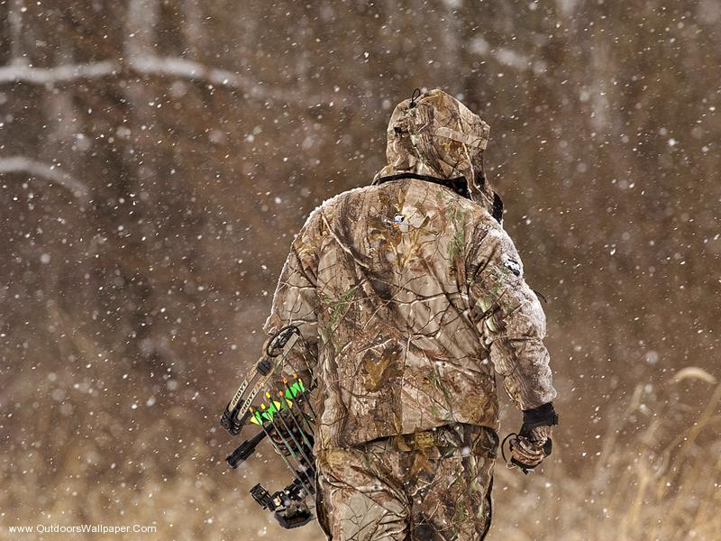 bowhunting woods wallpapers55com Best