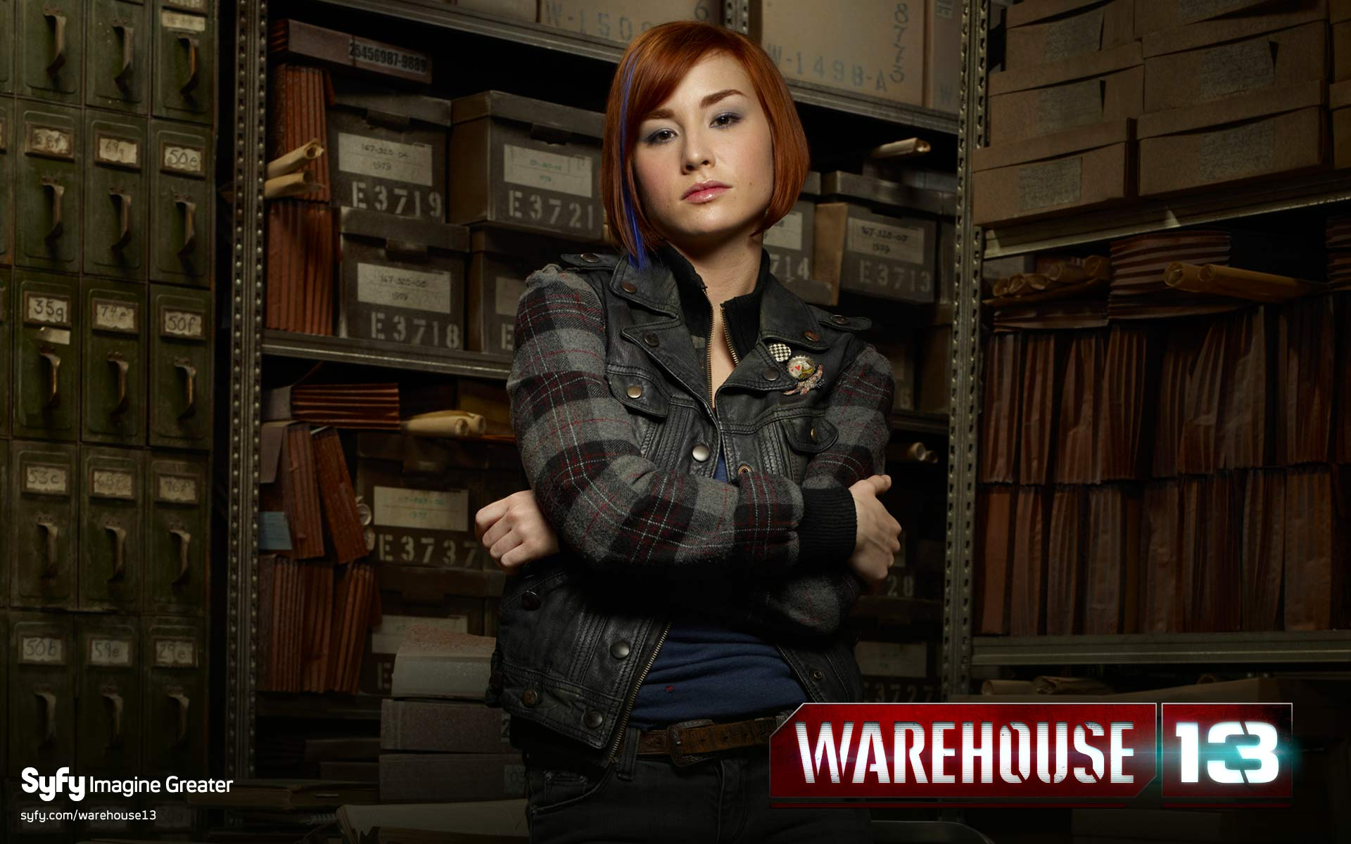 warehouse 13 wallpaper claudia donovan 01jpg 1920x1200