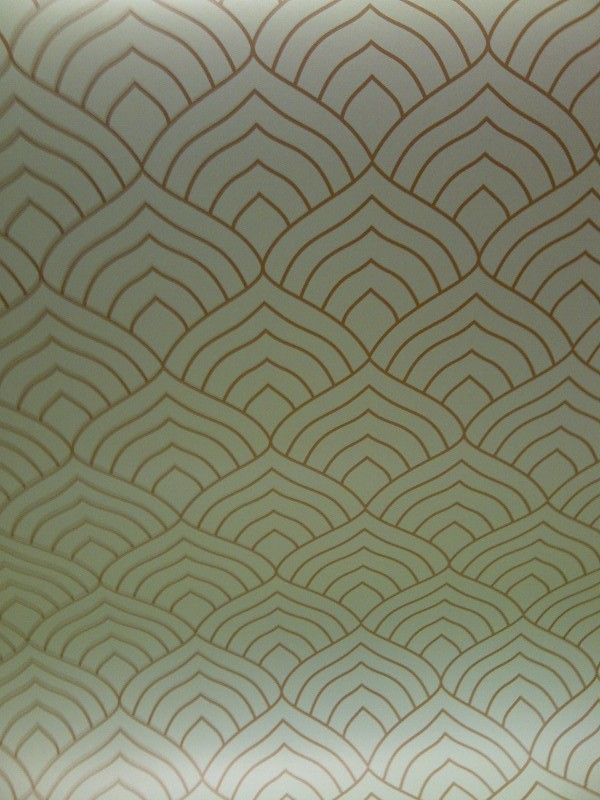 Art Deco wallpaper Chameleon Collection 600x800