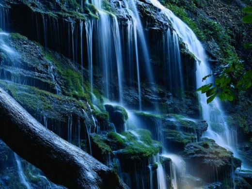 Living Waterfall Screensaver 10   Download Living 520x390