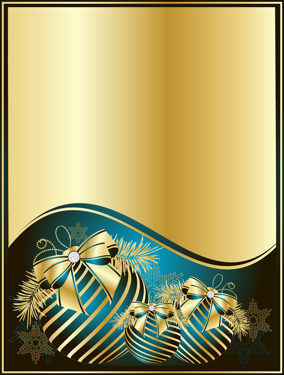 Light Blue and Gold Wallpaper - WallpaperSafari