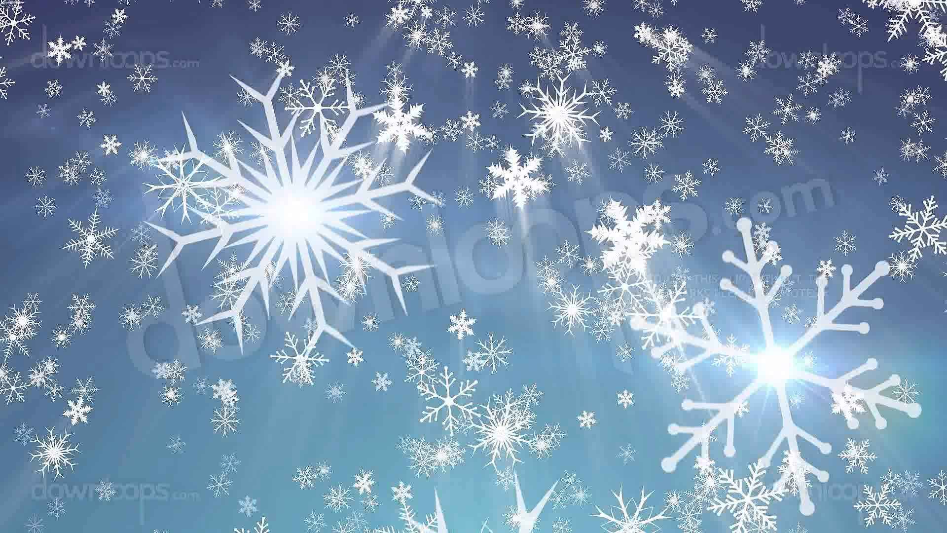 Snowy 1   Snow Christmas Video Loop Animated Motion Background 1920x1080