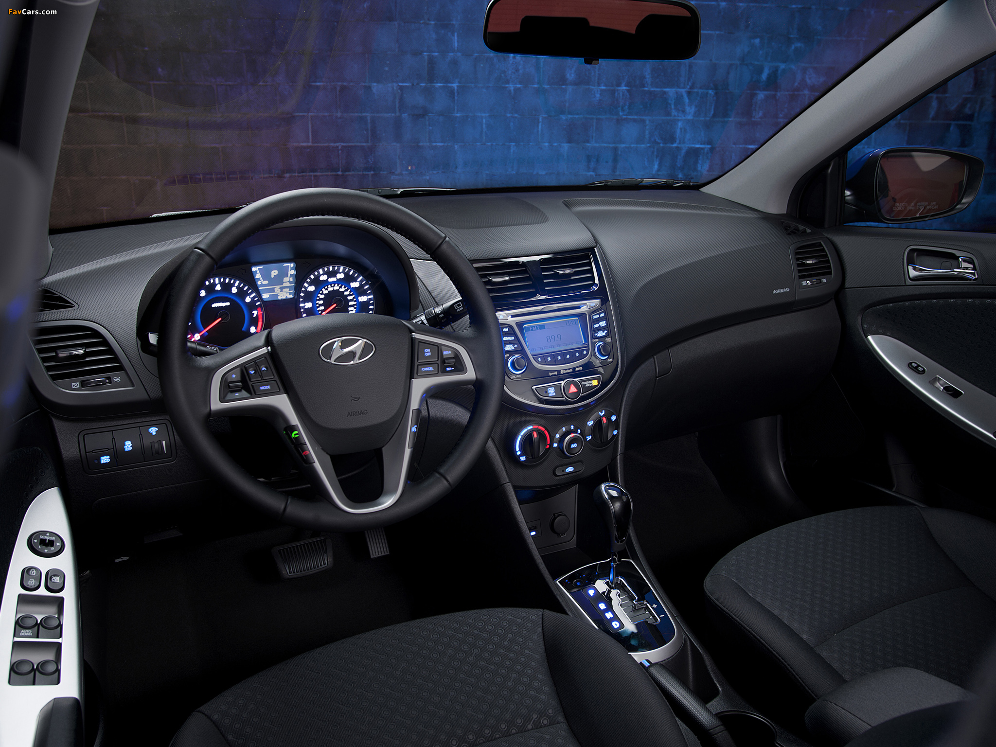 Hyundai Accent US spec RB 2011 wallpapers 2048x1536