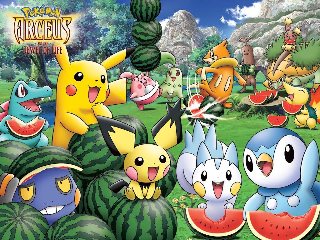 Pokemon Movie Wallpape...