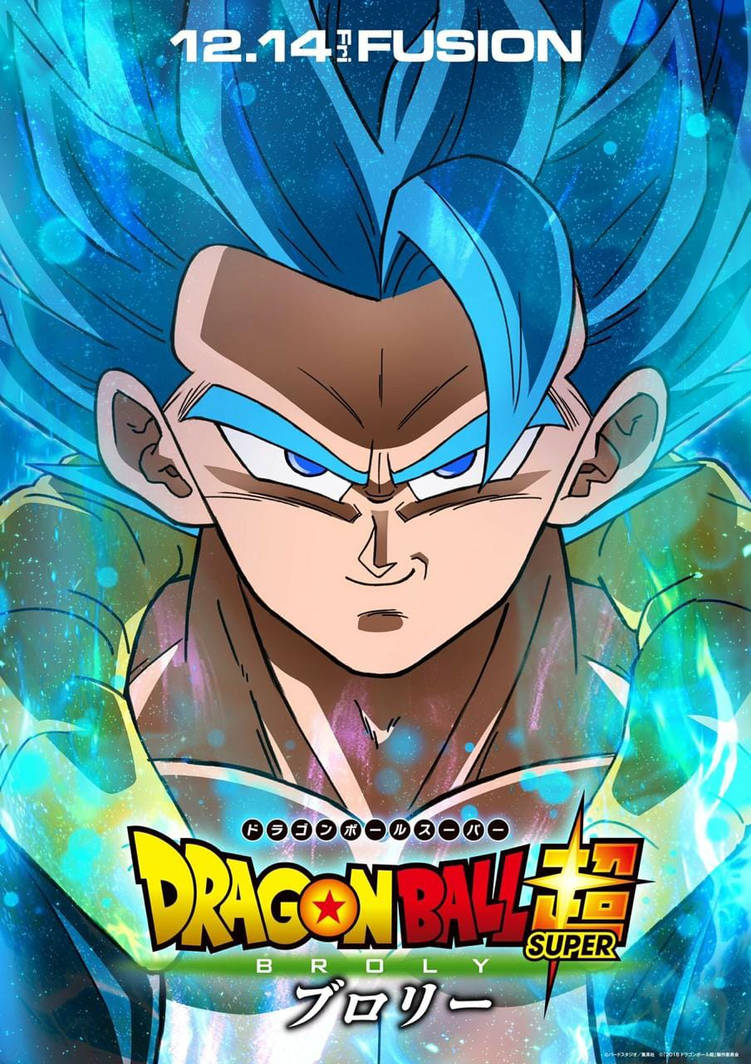Free Download Dragon Ball Super Broly Gogeta Ssjblue Poster Hd By
