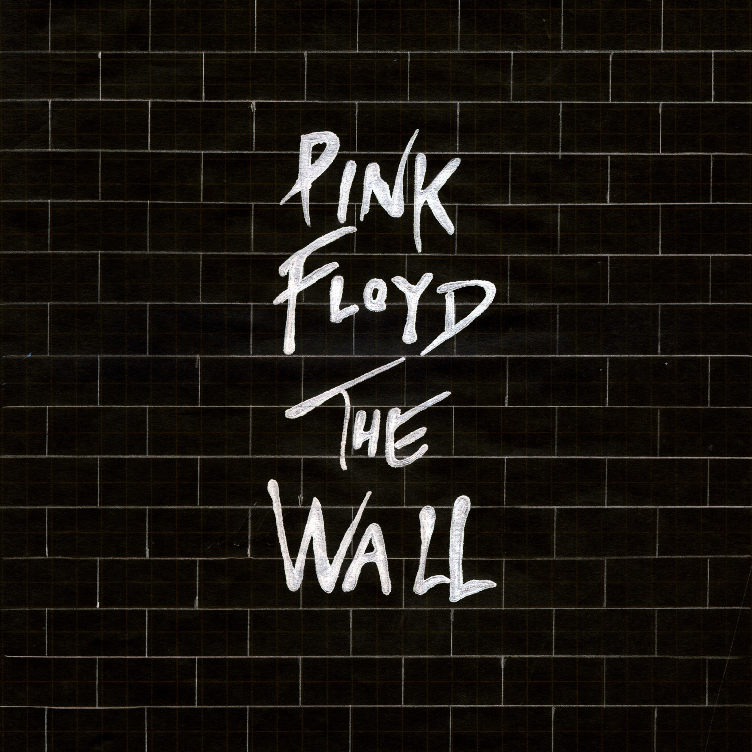 pink floyd the wall black   parallax HD iPhone iPad wallpaper 2448x2448