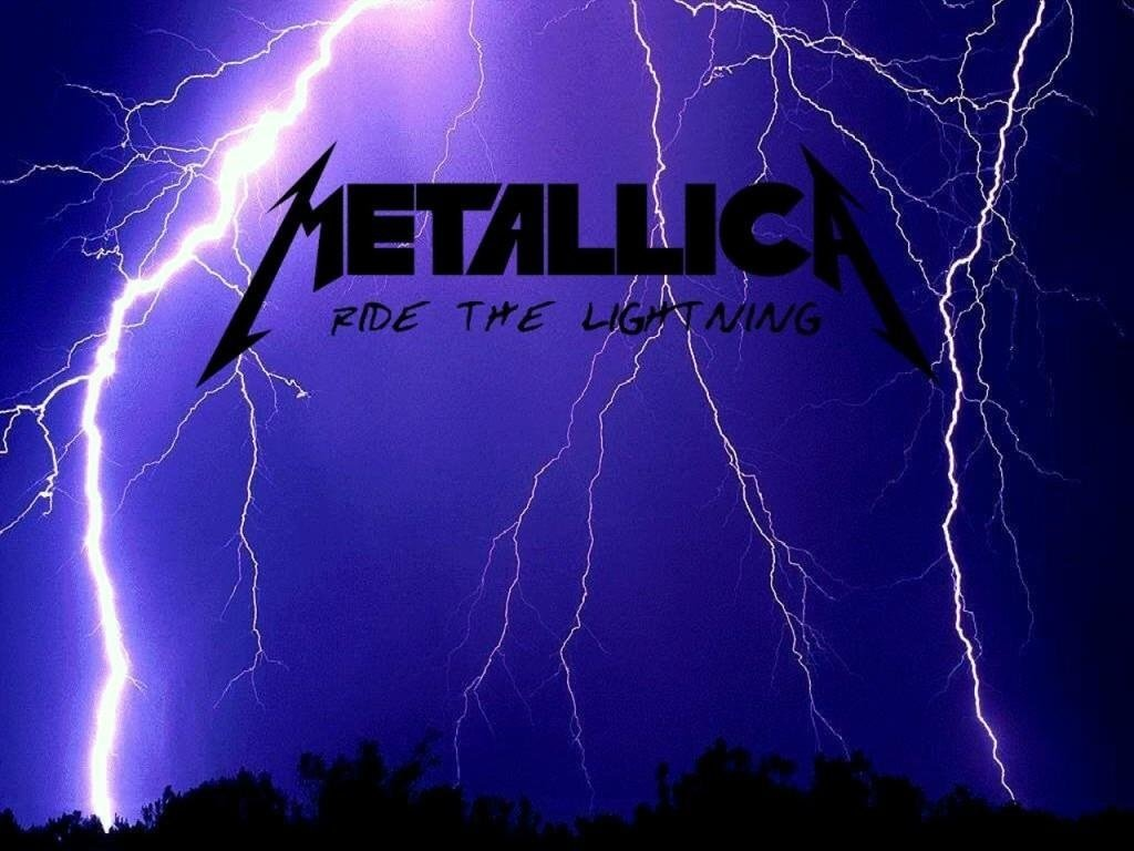 Papel de Parede Metallica Ride The Lightning Wallpaper para Download 1024x768