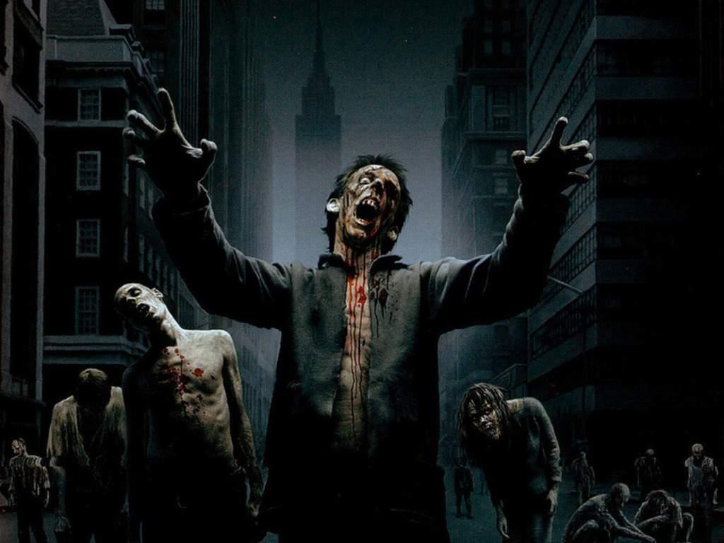 Zombies Horror Wallpapers Top Web Pics 1024x768
