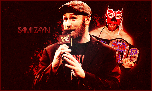 Sami Zayn Wallpaper Wallpapersafari