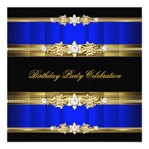 Royal Blue and Gold Wallpaper 512x512