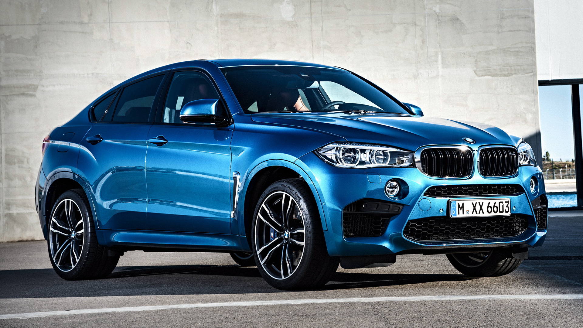 BMW X6 M 2015 Wallpapers and HD Images 1920x1080