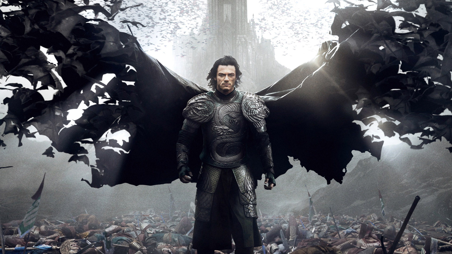 Luke Evans In Dracula Untold Movie Wallpaper 1920x1080