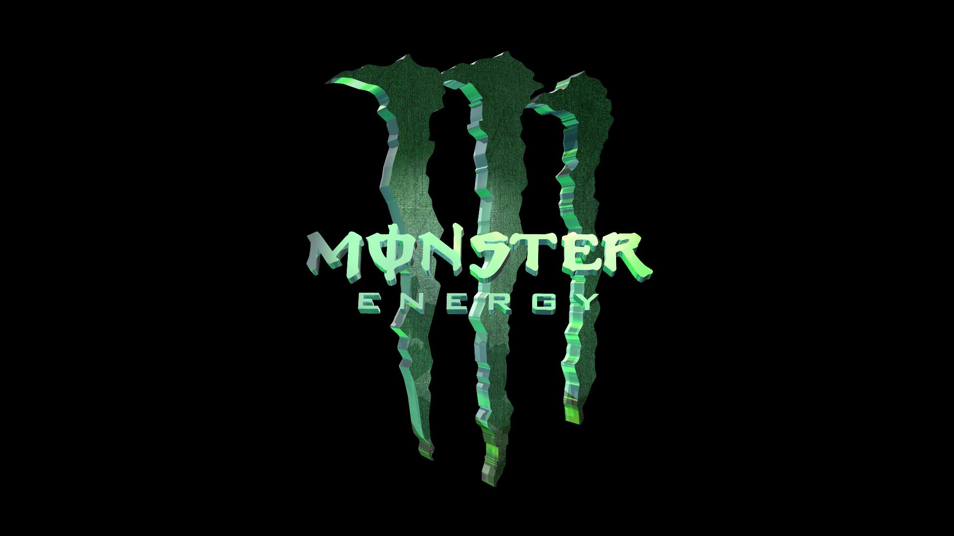MONSTER ENERGY DRINK 3D Monster Energy 1920x1080