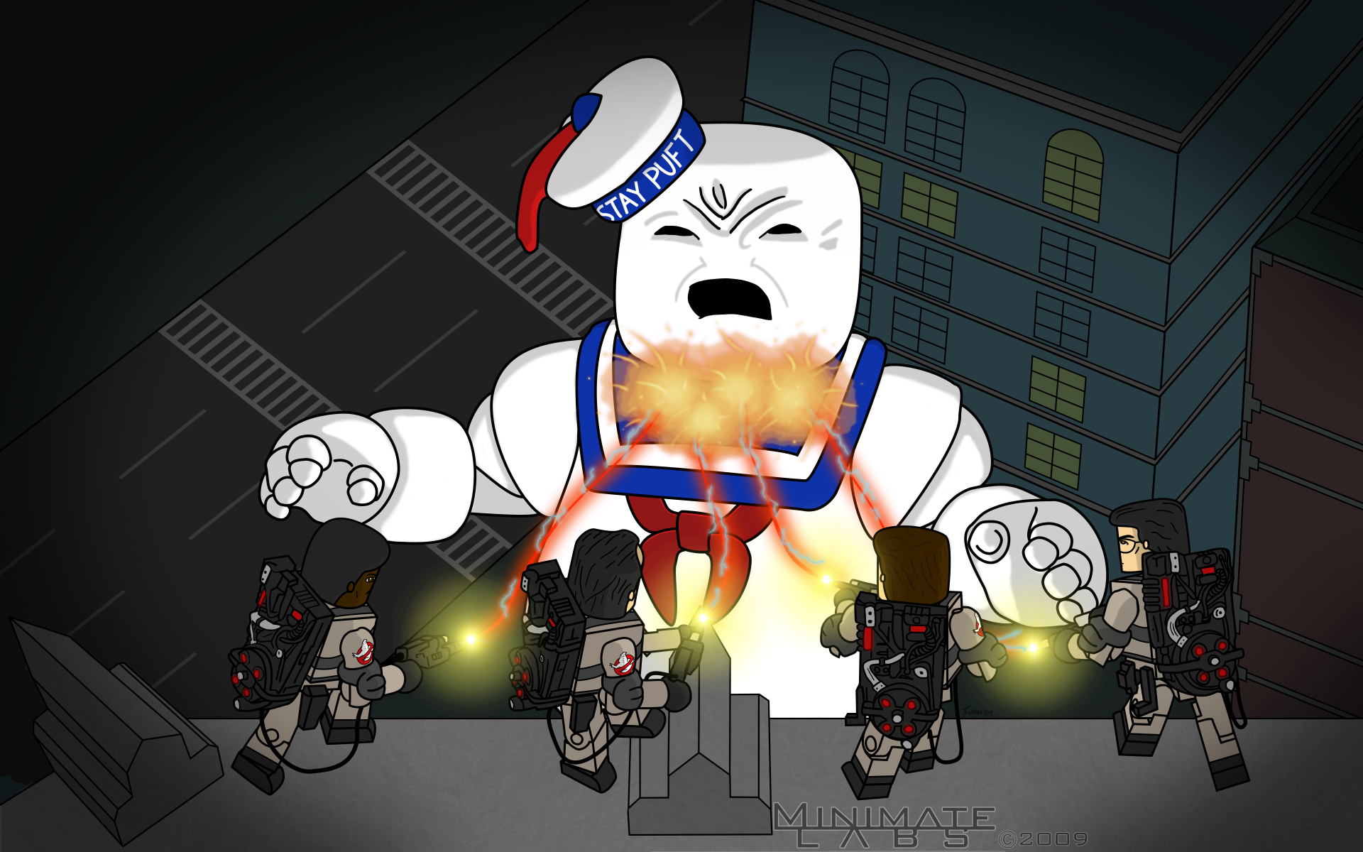 ghostbuster stay puft 1920x1080