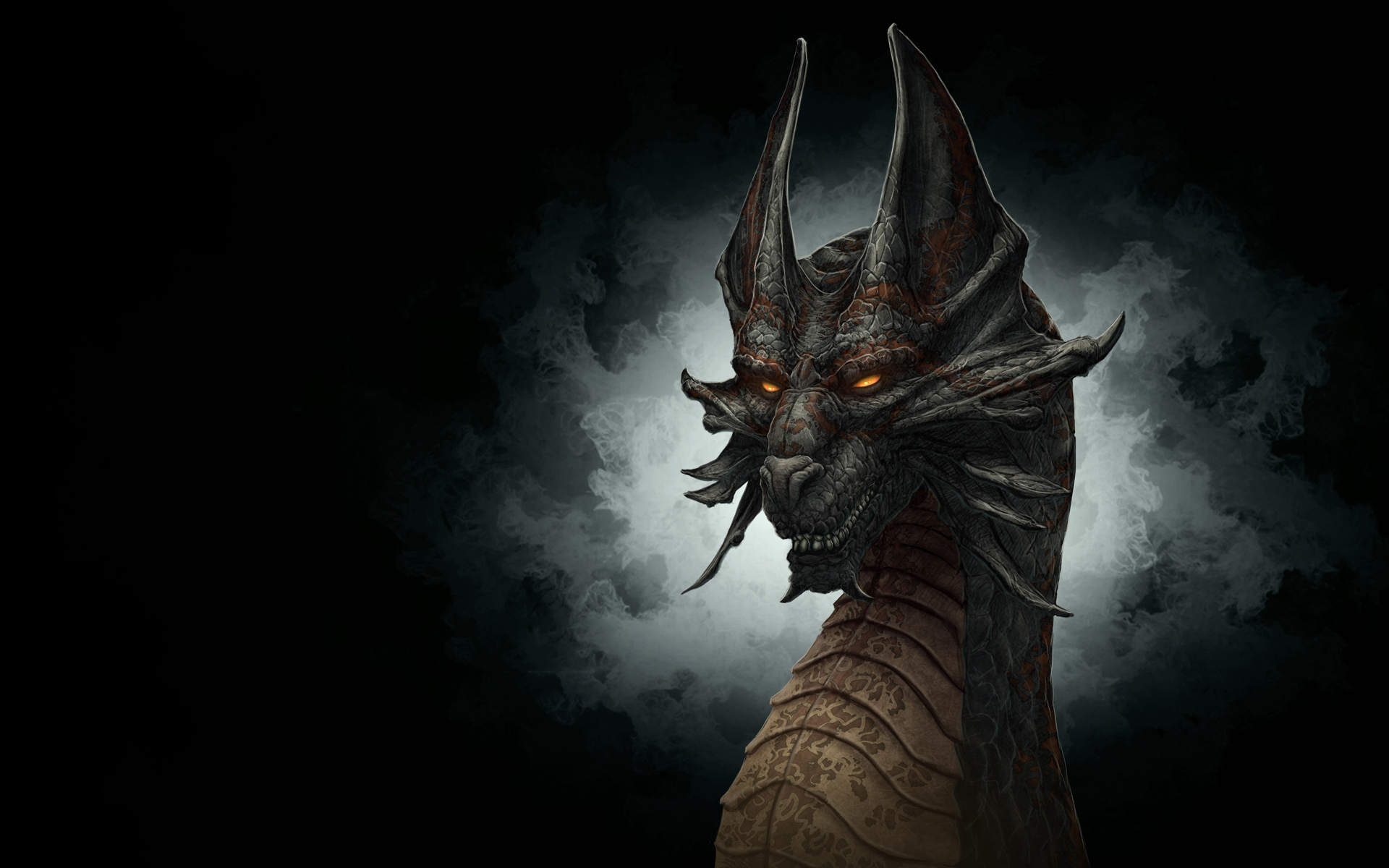 48+ Black Dragon Wallpaper HD on WallpaperSafari