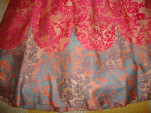 NWT Tracy Reese Pink Wallpaper Michelle Colwyn Brocade Dress 2 XS Ant 500x375