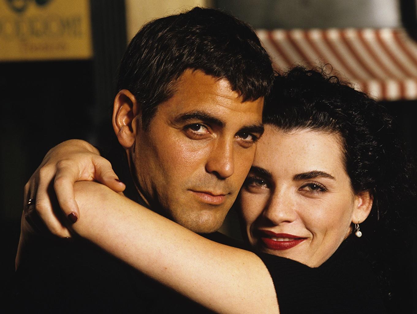 Wallpaper George Clooney Celebrities 1361x1024