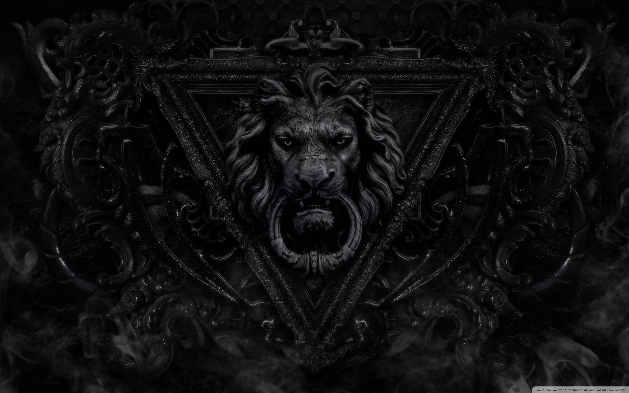 Dark gothic lion wallpaper 2560x1600 wallpaper 2560x1600 238504 2560x1600