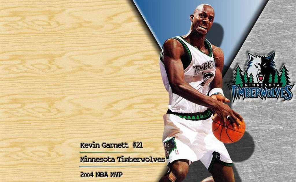 NBA Wallpapers Wallpaper of Kevin Garnett and Minnesota 1024x630