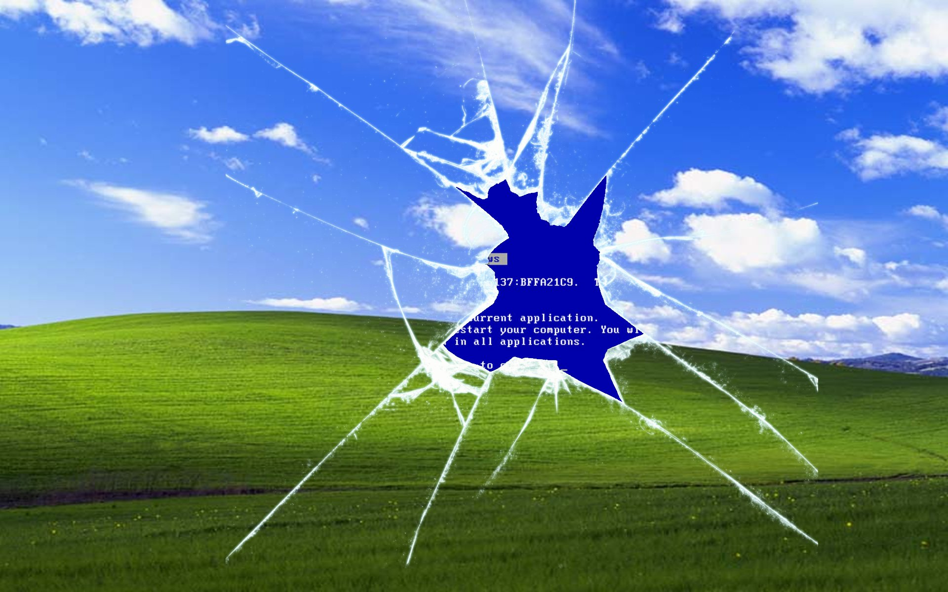 The 13 Best Takes On the Windows XP Bliss Wallpaper   Dorkly Post 1920x1200