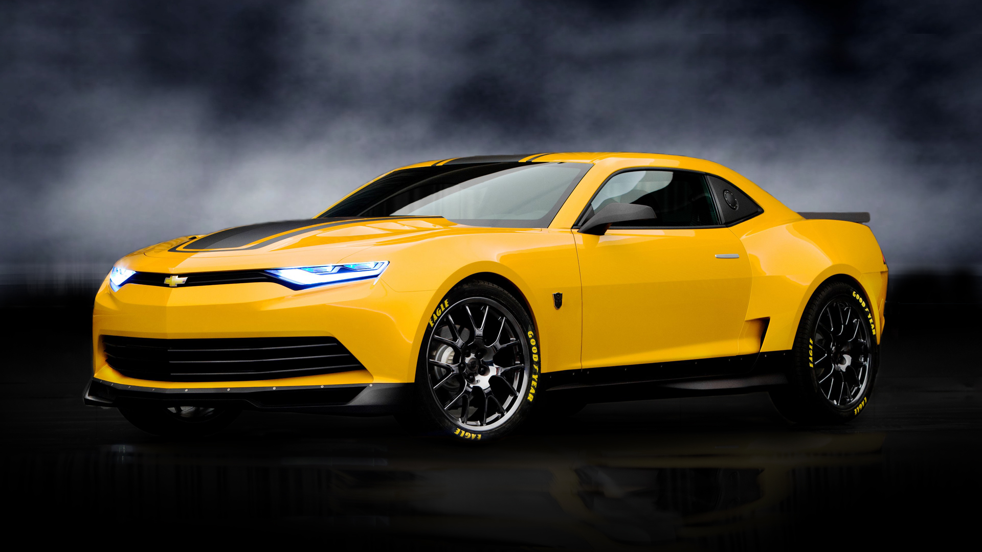 Bumblebee Camaro Concept Transformers 4 HD Wallpaper 6264 1920x1080