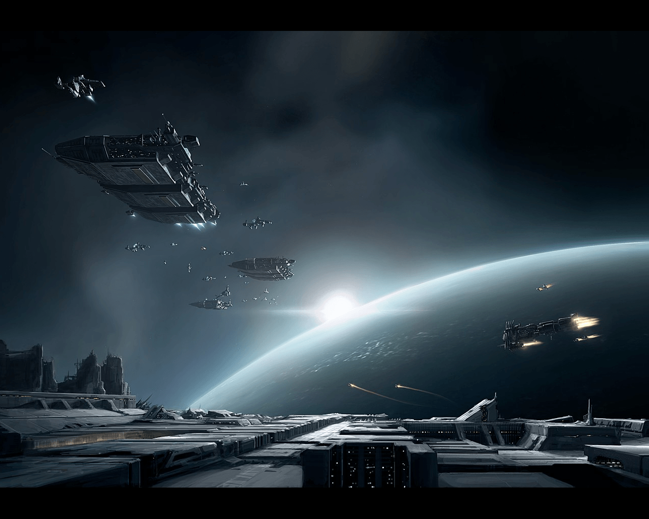 Space Ship Wallpapers 1280x1024