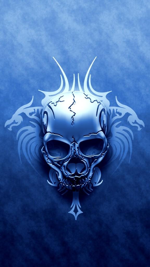 49 Skull Wallpaper For Iphone On Wallpapersafari