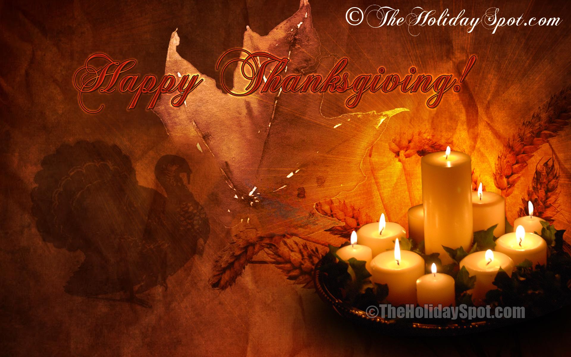 Thanksgiving Animated Background Divascuisinecom