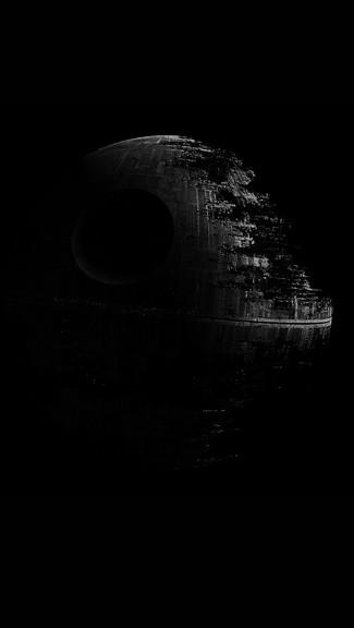 Star Wars   Death Star iPhone Wallpaper 325x576