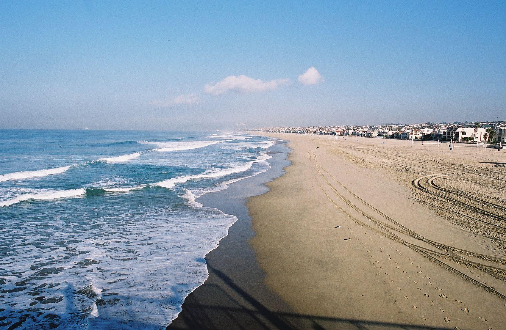 Group Of California Beach Desktop Wallpaper