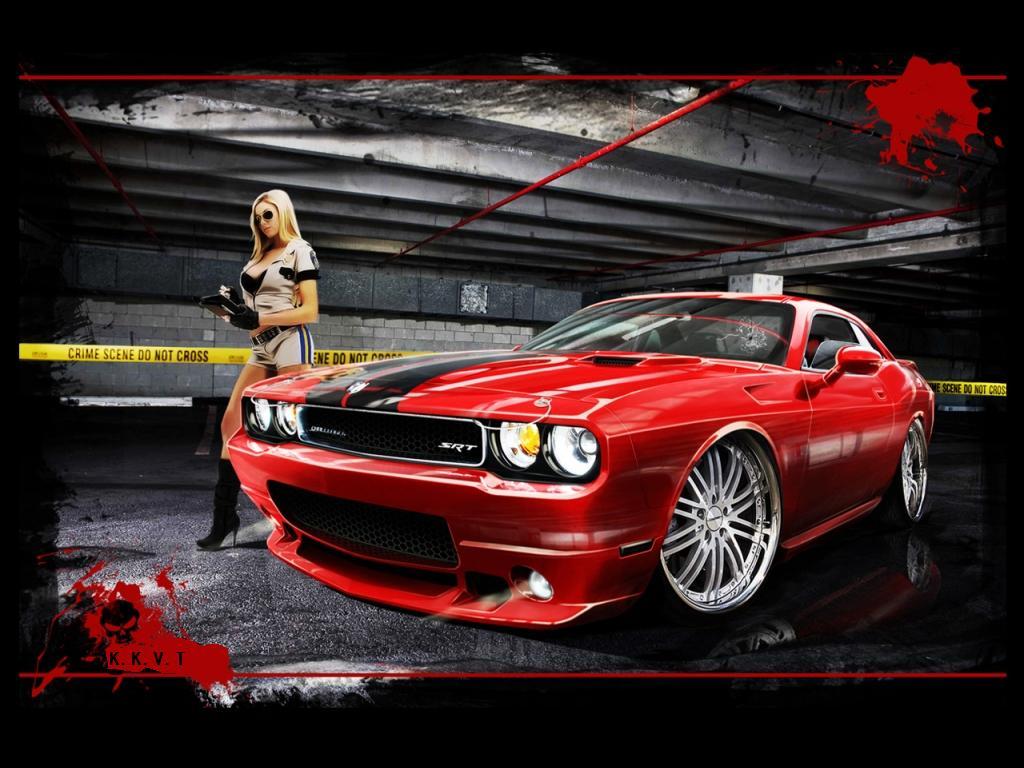 Dodge Challenger Wallpaper 1024x768