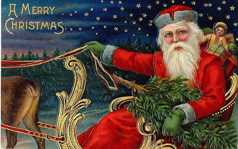 чешские открытки с новым годом