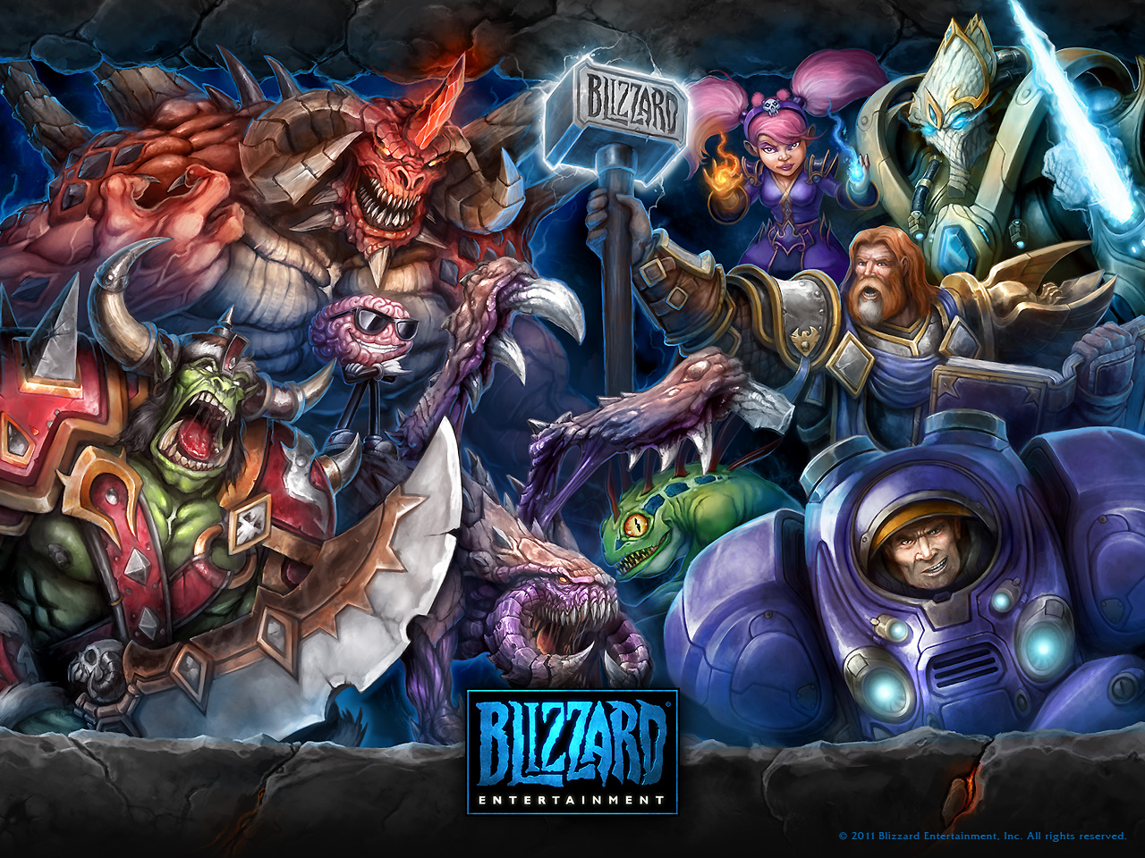 Blizzard Entertainment Wallpaper 1280x960 Blizzard Entertainment 1280x960
