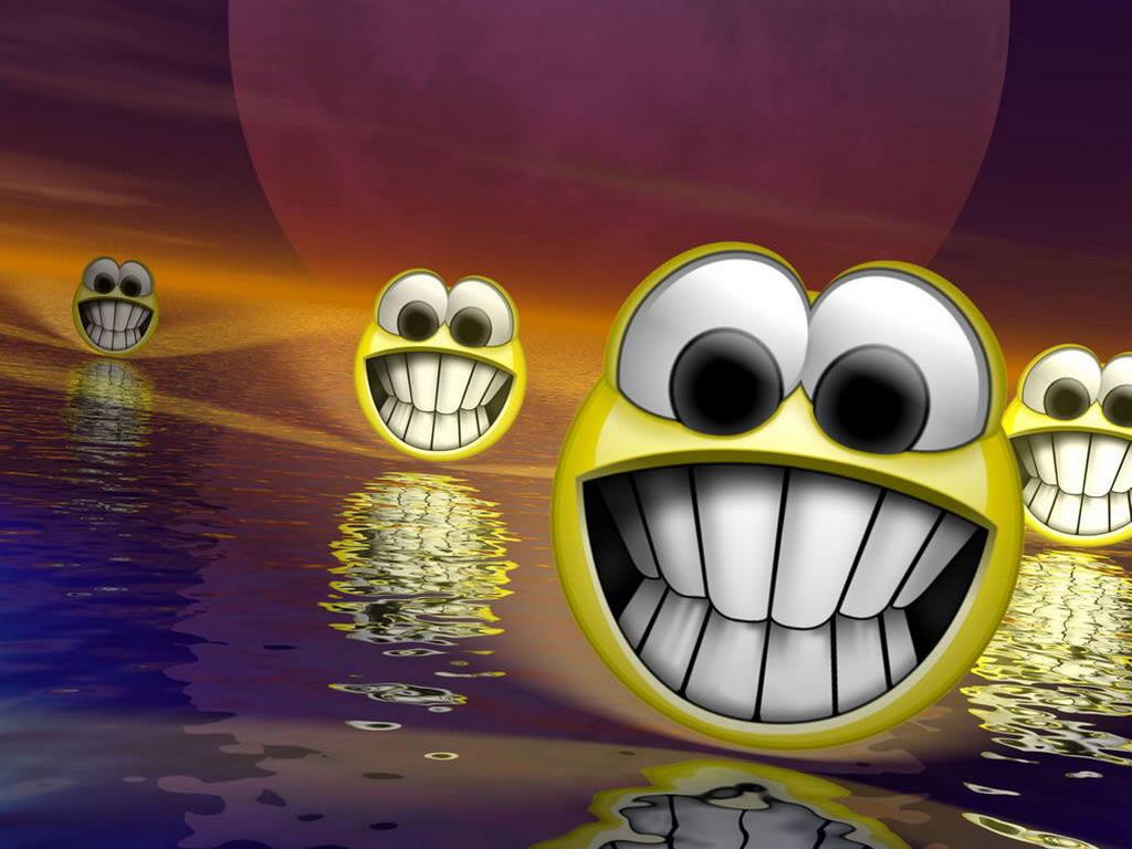 Smiley Face Wallpaper 1024x768