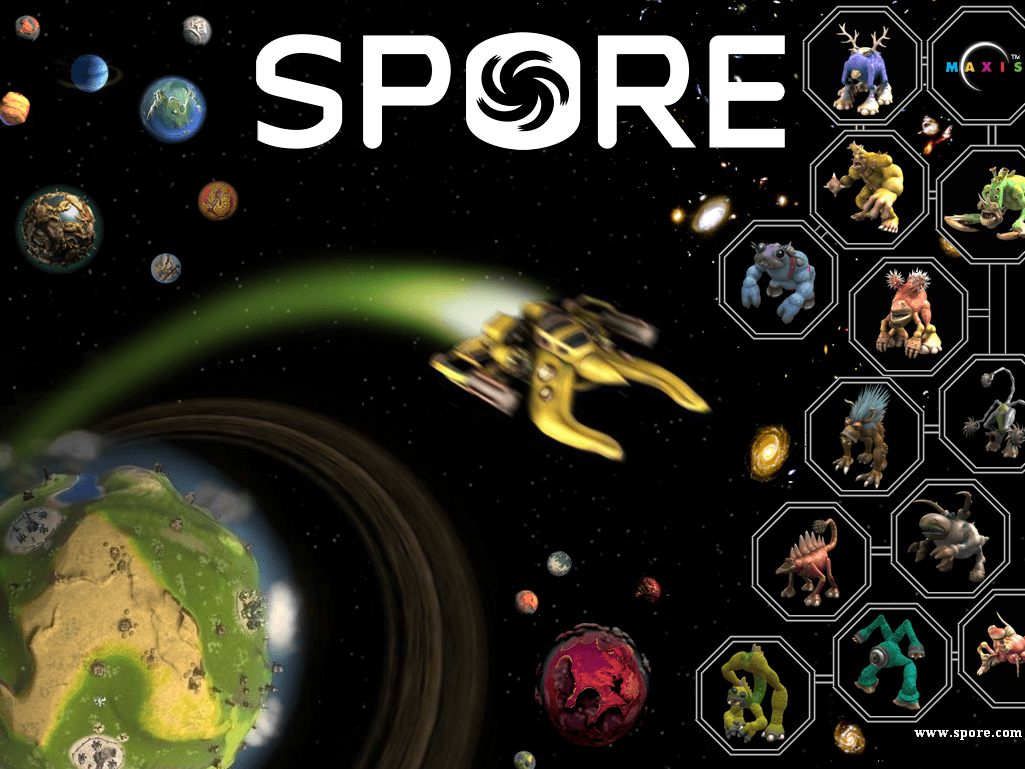 Spore Wallpapers 1025x769