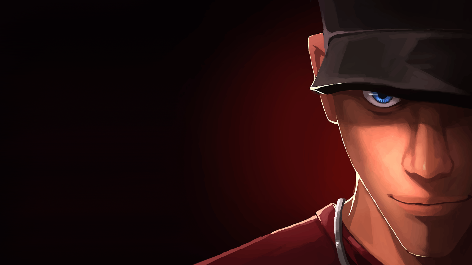 finally finished the Engineer portrait and the set is complete tf2 1920x1080