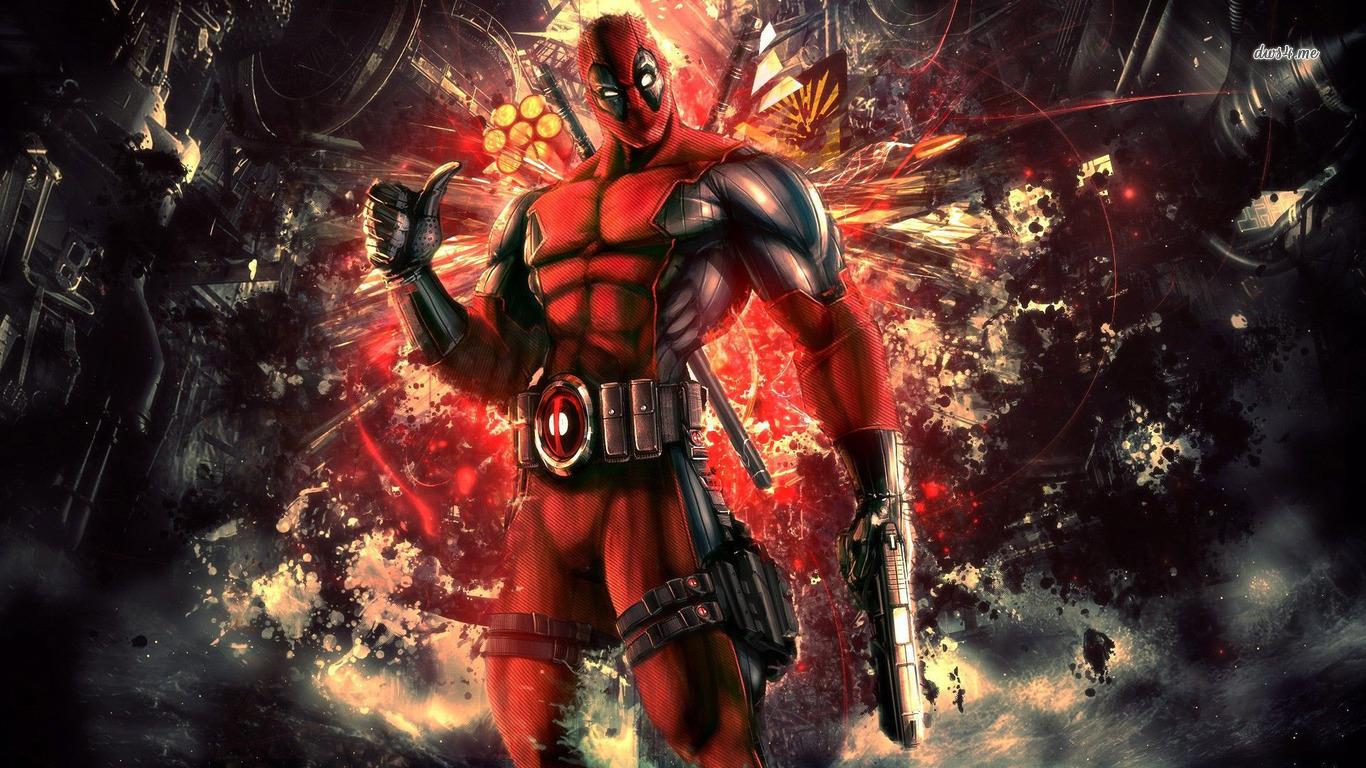 Pics Photos   Deadpool Deadpool Wallpaper 1366x768