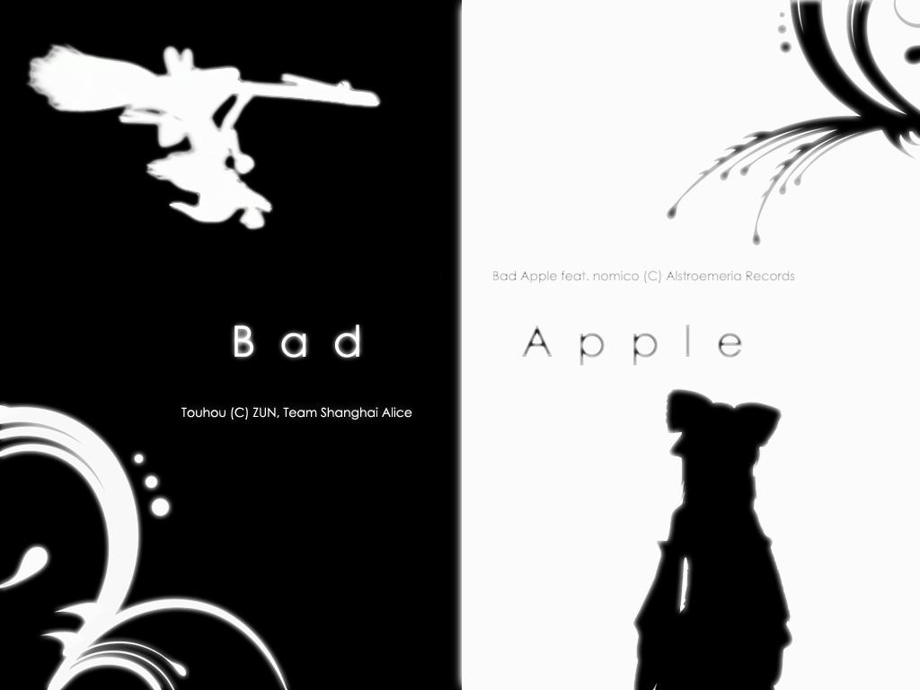 Bad Apple   touhou Wallpaper 28570365   Page 7 1024x768