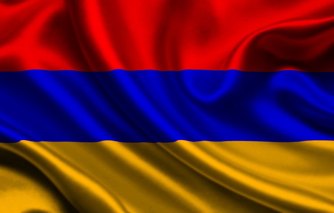 Wallpaper Red Blue Flag Orange Texture Armenia Flag Armenia 1332x850