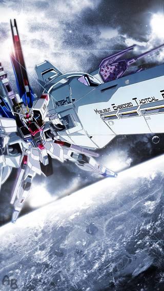 Gundam 007 Anime   iPhone Wallpaper 320x568