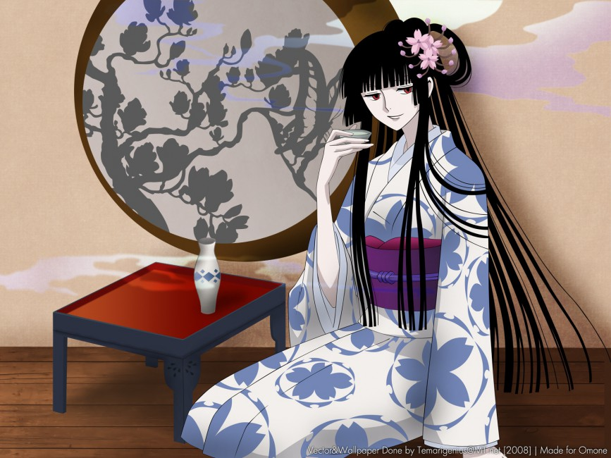 Ichihara Yuuko Girl Brunette Kimono Sap Smile   Stock Photos 867x650