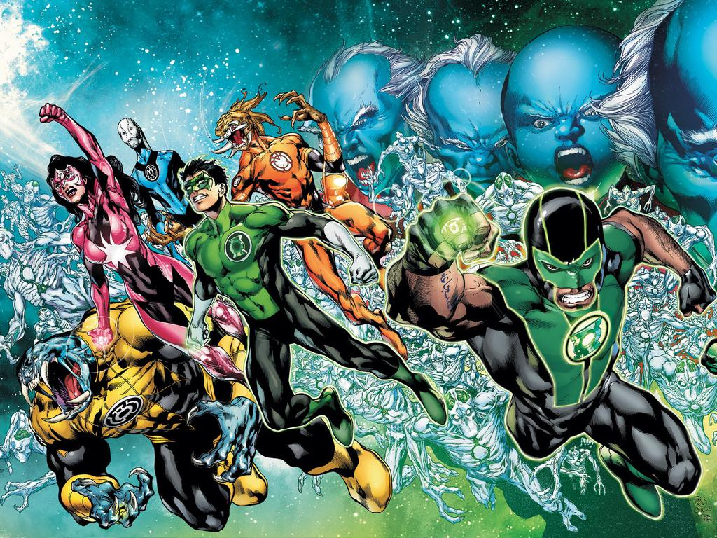 Northwest Comics Games Green Lantern Corps wallpaper 1024x768