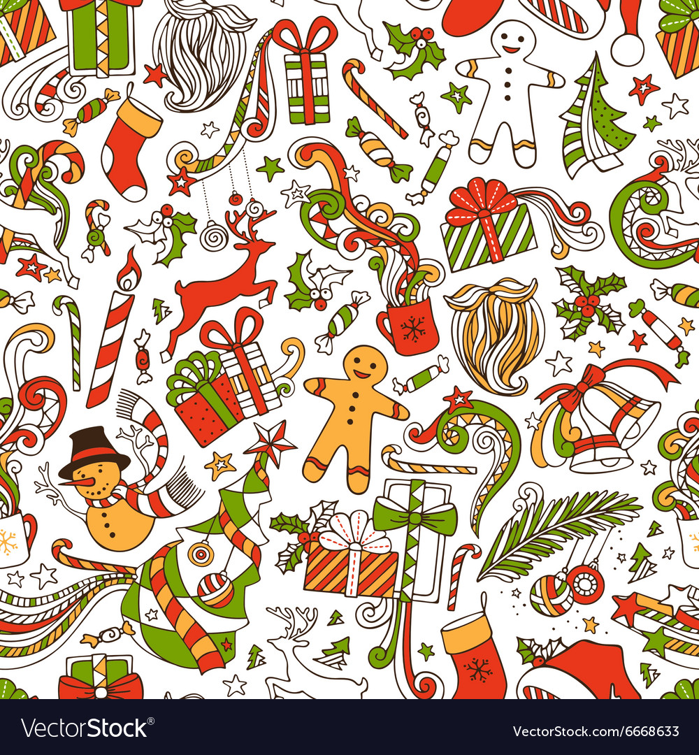 Boundless Funny Christmas Wallpaper Royalty Vector 1000x1080