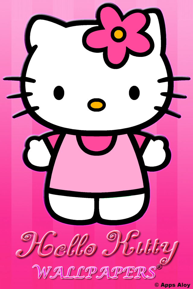 Hello Kitty Wallpapers Download For IPhone IPad FreeNew 640x960