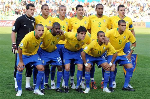Brazil World Cup 2010 Football Team Wallpaper 500x330