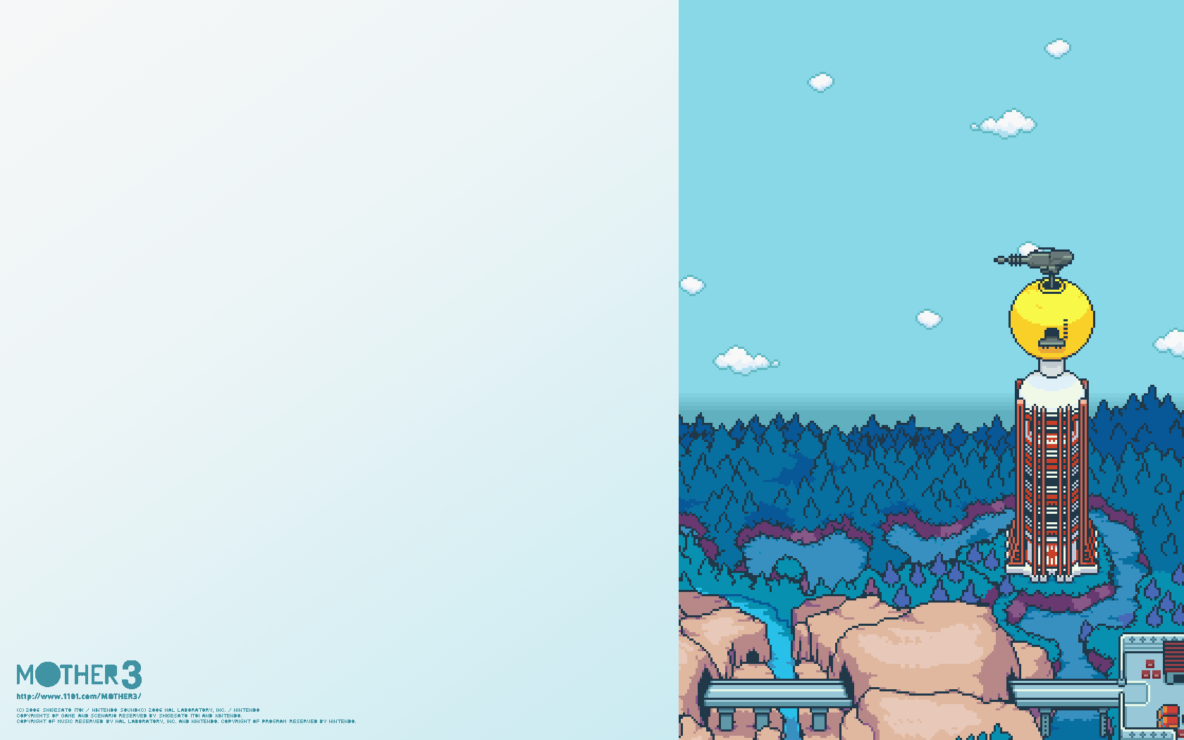 Mother 3 1680x1050 Wallpapers EarthBound 2 MOTHER 3 Forum 1680x1050