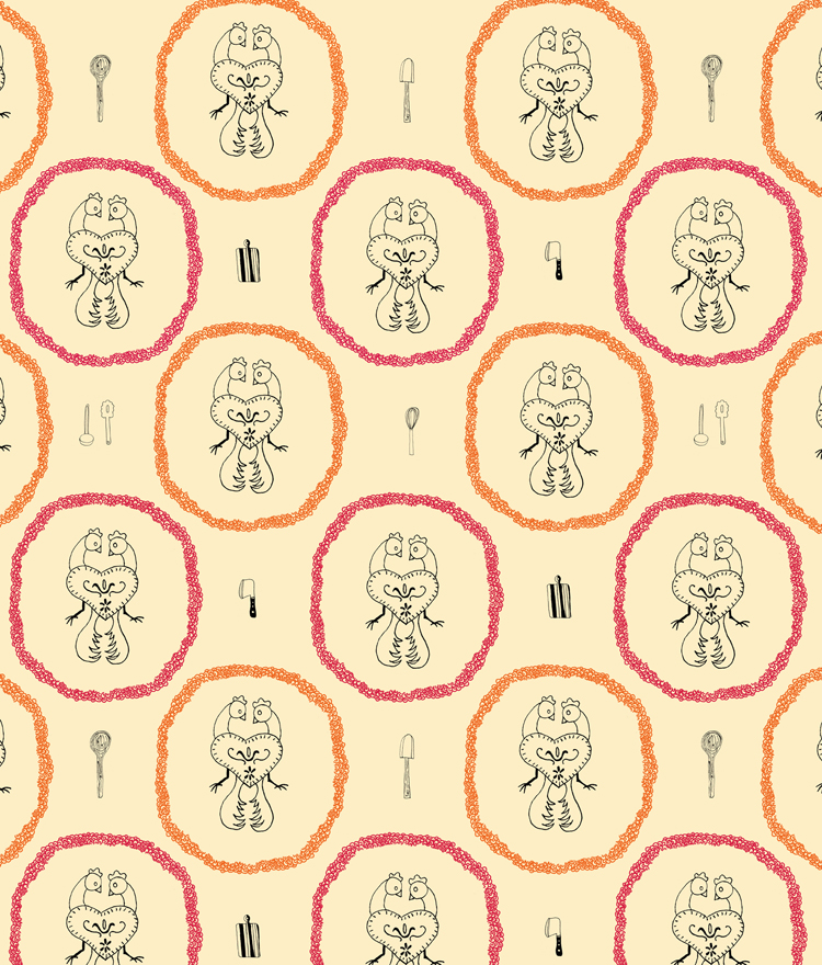 country kitchen wallpaper patterns 750x880