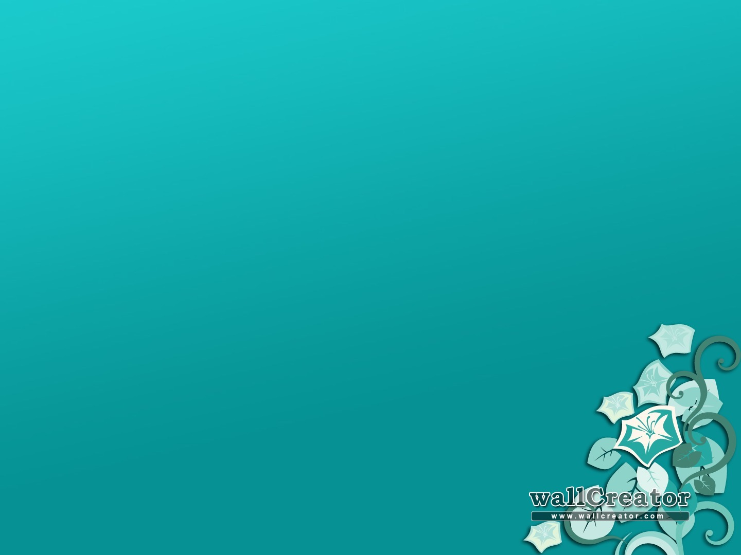 Teal and gray wallpaper