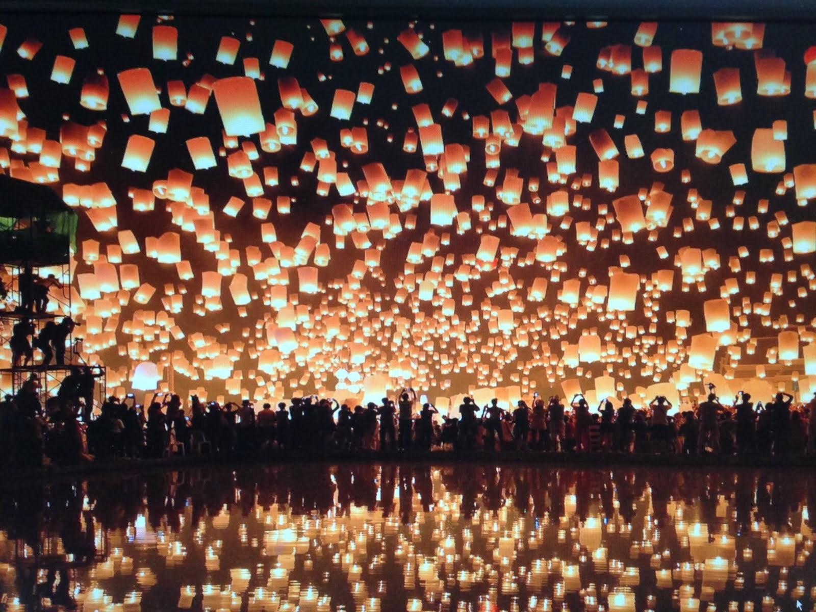 One New Thing Daily Thai Lantern Festival   Desktop Photo 1600x1200