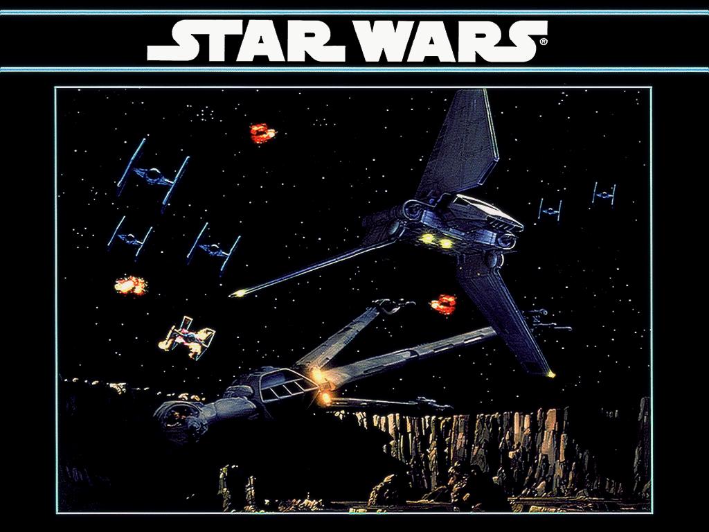 48 Classic Star Wars Desktop Wallpaper On Wallpapersafari